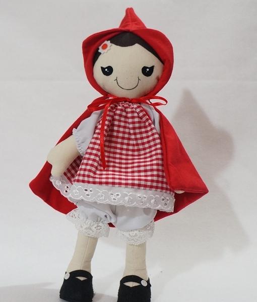 Chapéusinho Vermelho boneca