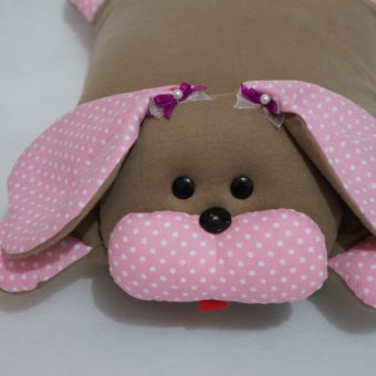 cachorro travesseiro