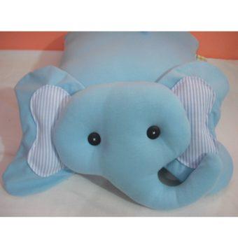Elefante azul listras l
