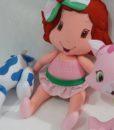 Moranguinho Baby e Pudim Rocambole