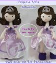 Princesa Sofia pernas