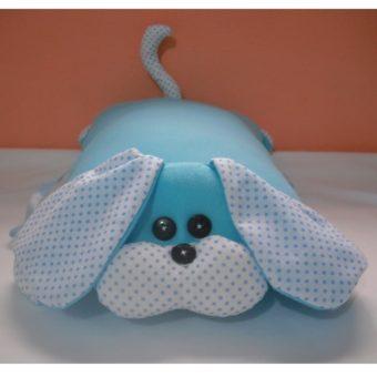 Travesseiro Cachorro Azul