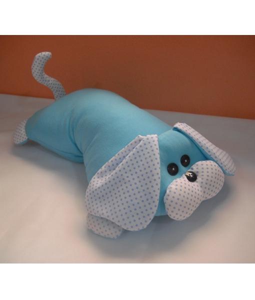Travesseiro Cachorro Azul l