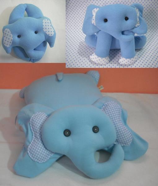 Travesseiro elefante kit nicho