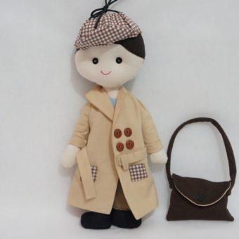 boneco detetive b