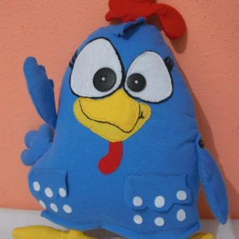 galinha pintadinha tecido