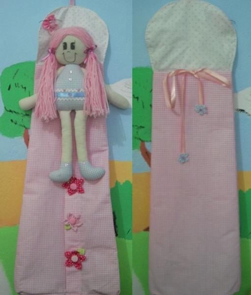 porta fraldas boneca