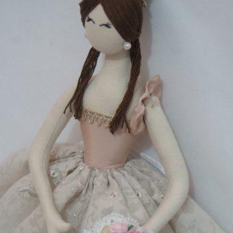 buquê decoração bailarina