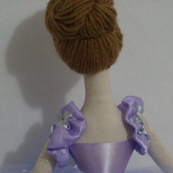Boneca Bailarina Janine cabelo