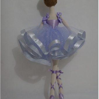 Boneca Bailarina Janine costas