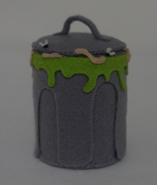 Miniatura Lixeira trash pack