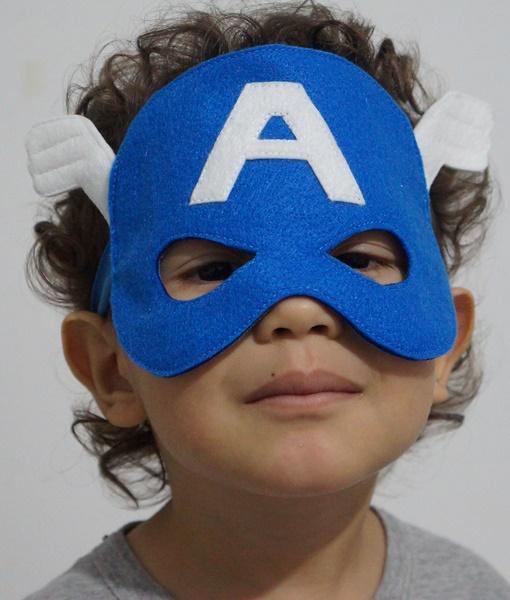 Mascara Capitão América Ele