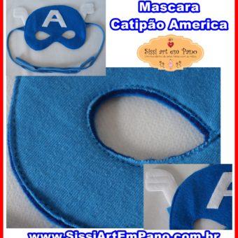Mascara Capitão Américas
