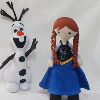 frozen Ana olaf