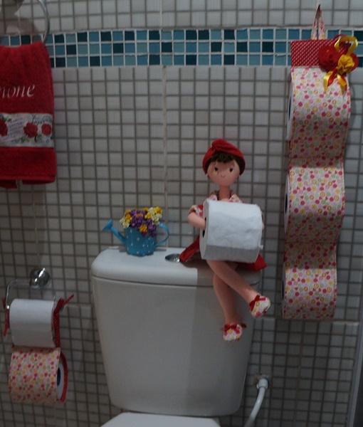Porta papel higienico SEM RESOLUÇÃO BOA