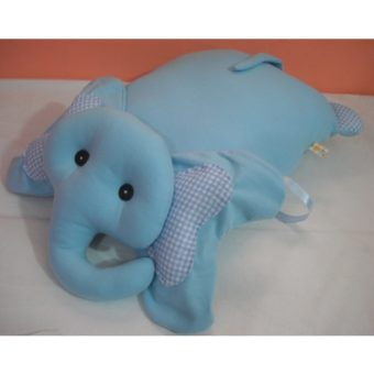Elefante azul xadrez