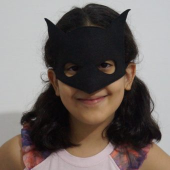 Mascara Batman ela