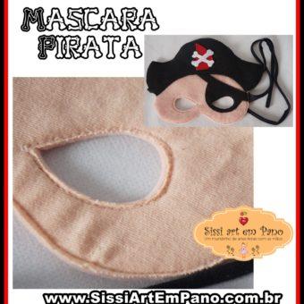 Mascara Piratas