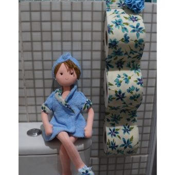 Porta papel higienico boneca Irene