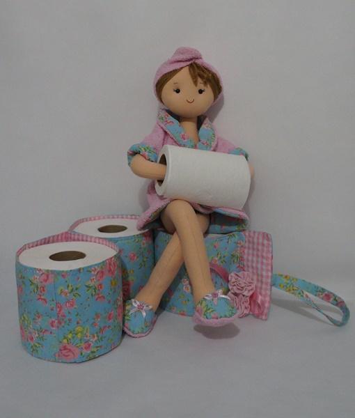 Porta papel higienico boneca Penha