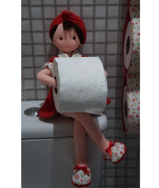 Porta papel higienico boneca Tatii